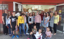 Wypoczynek w ramach wymiany międzynarodowej uczniów z Gryfowa Śląskiego,  Wlenia  i Strzyżowca w Hnusti  na  Słowacji – 2019 r.