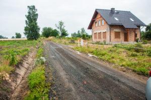 Przebudowa drogi gminnej wraz z odwodnieniem w Proszówce dz. nr 401 dr