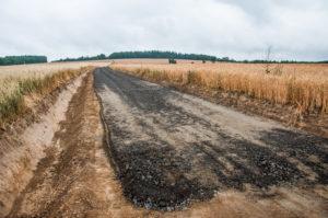 Przebudowa drogi dojazdowej do gruntów rolnych w Wolbromowie