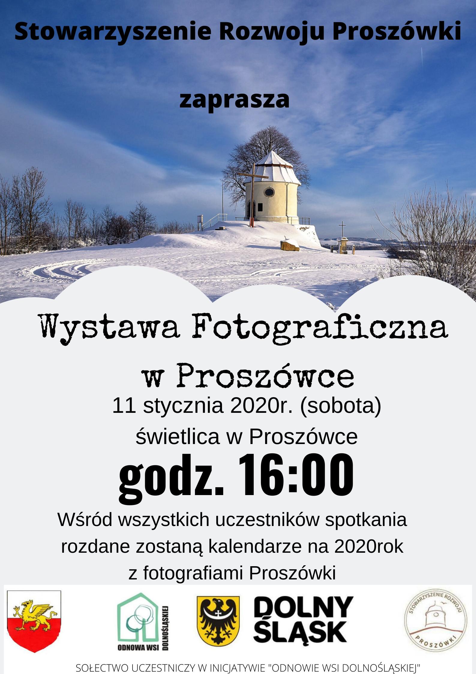 Wystawa fotograficzna w Proszówce