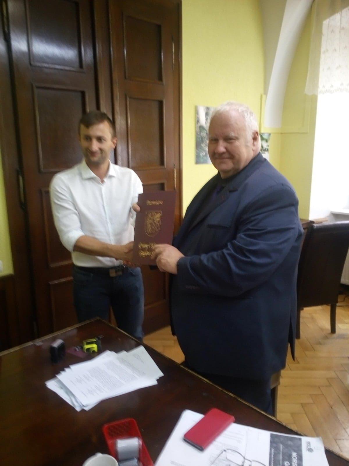 Podpisanie listów intencyjnych pomiędzy Gminą Gryfów Śląski  i  norweskim Partnerem – NORSKOG