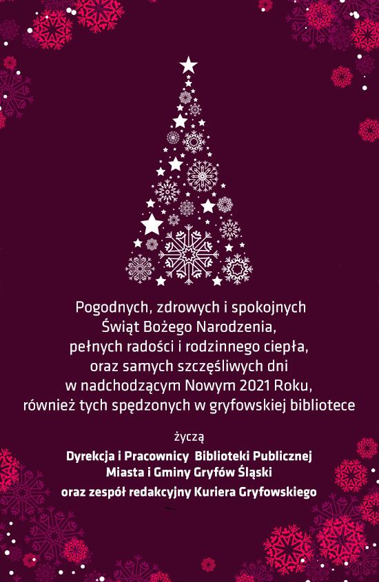 Wesołych Świąt Bożego Narodzenia i Nowego Roku!