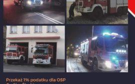 Przekaż 1% podatku dla OSP Gryfów Śląski