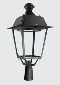 Nowe punkty oświetleniowe LED na gryfowskim Rynku.