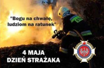 Życzenia dla strażaków z okazji Dnia św. Floriana