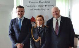 Odznaczenia i awanse dla strażaków z naszej gminy.