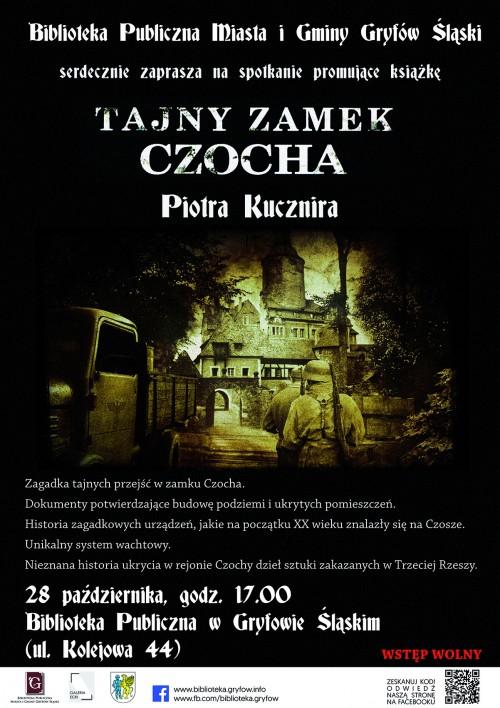 Promocja książki Tajny Zamek Czocha