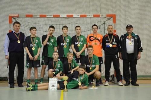 Mistrzostwa Dolnego Śląska w piłce nożnej halowej chłopców do lat 15