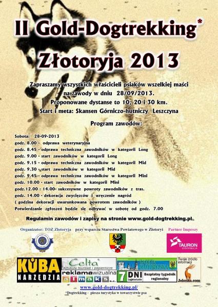 II Gold- Dogtrekking Złotoryja 2013