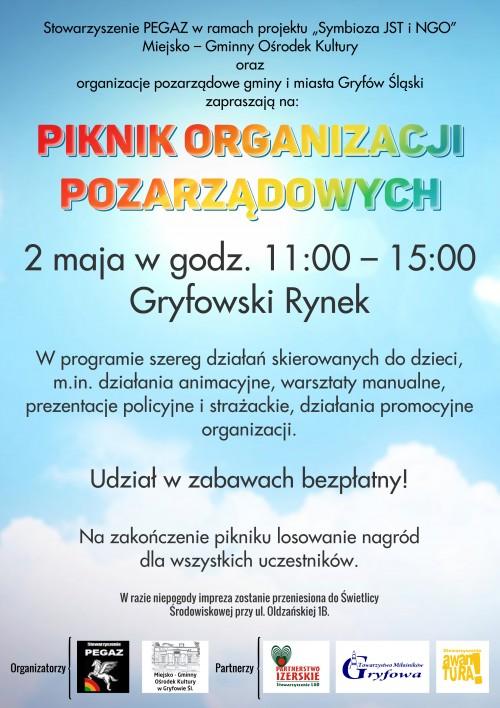 Piknik Organizacji Pozarządowych w Gryfowie Śląskim