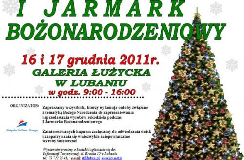 I Jarmark Bożonarodzeniowy