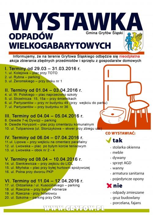 Wystawka odpadów 2016