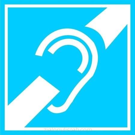 Informacja dla osób  niedosłyszących