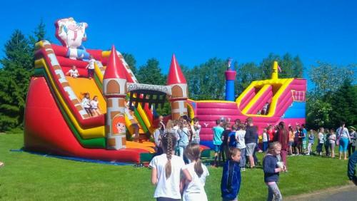 Sportowy Dzień Dziecka w Szkole Podstawowej w Gryfowie Śl.