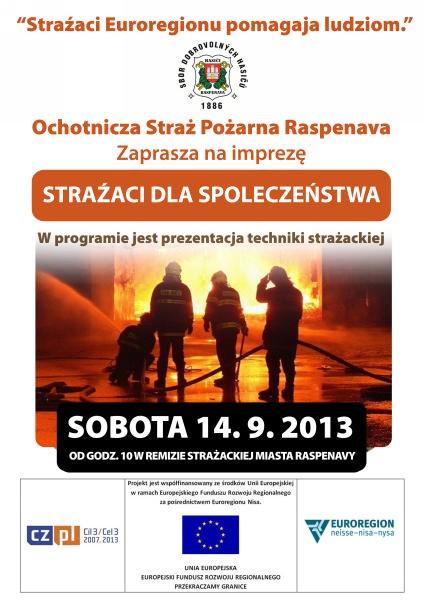 Strażacy Euroregionu pomagają ludziom