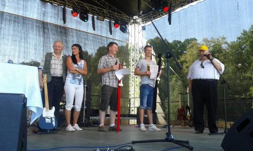 Zawody wędkarskie Koła PZW w Gryfowie Śląskim podczas Kwisonaliów