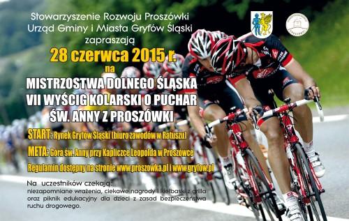 VII Wyścig MTB pod górę o Puchar św. Anny z Proszówki