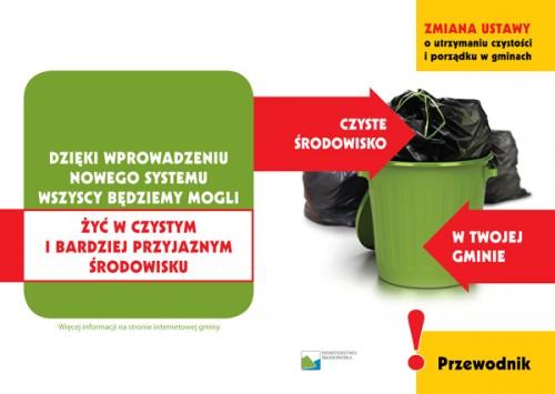 Informacja o wprowadzeniu zmian do Ustawy o utrzymaniu czystości