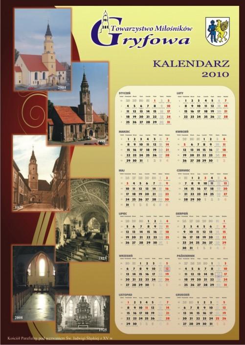Kalendarz Towarzystwa Miłośników Gryfowa Śląskiego