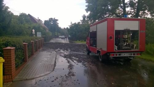 Skutki nawalnych opadów 26 lipca 2016r. w Gminie Gryfów Śl.