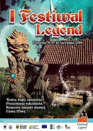 Zapraszamy na I Festiwal Legend w Pławnej