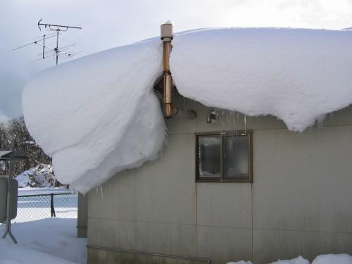 Przypomnienie o konieczności usuwania śniegu lub lodu z dachów