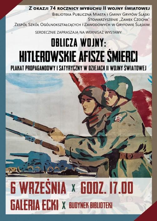 Oblicza wojny : Hitlerowskie afisze śmierci
