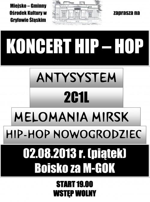 Hip-Hop Koncert w M-GOK