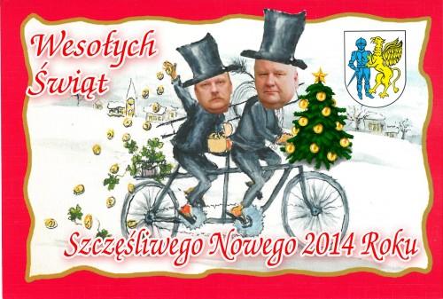 Życzenia Bożonarodzeniowe od Przewodniczącego Rady i Burmistrza
