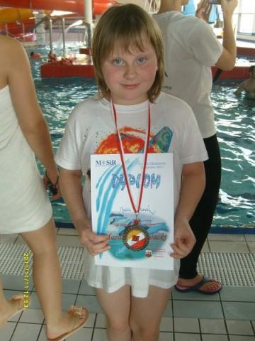 Nasza pływaczka