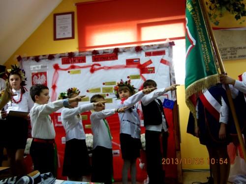 Święto w Szkole Podstawowej im. W. S. Reymonta w Uboczu