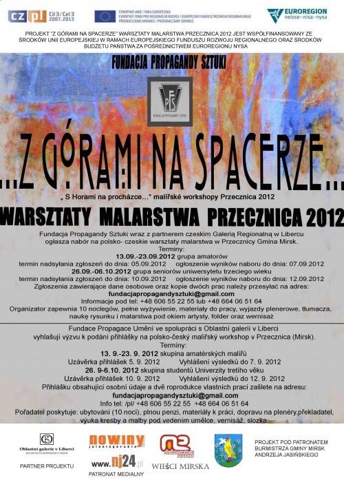 Warsztaty malarskie Przecznica 2012