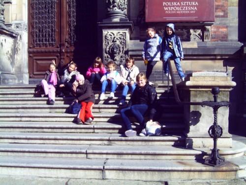 Wycieczka w Muzeum Narodowym