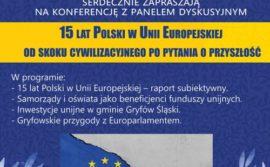Konferencja 15 lat Polski w Unii Europejskiej