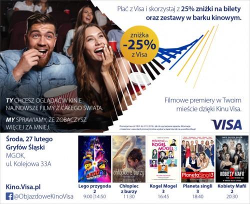 Kino VISA w Gryfowie Śląskim