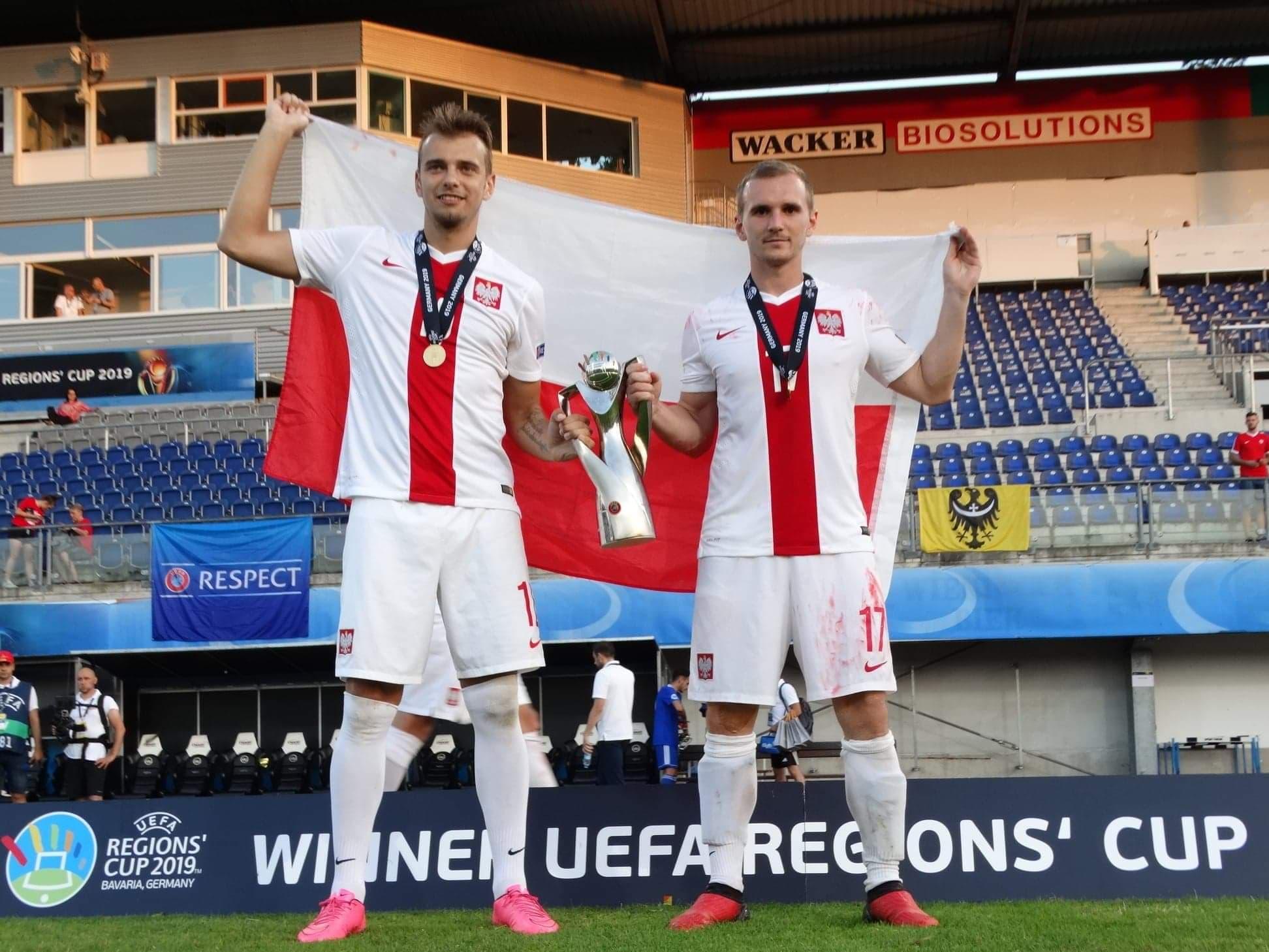 Mieszkaniec Gryfowa Śląskiego mistrzem Europy!! UEFA Regions' Cup 2019 w Bawarii.