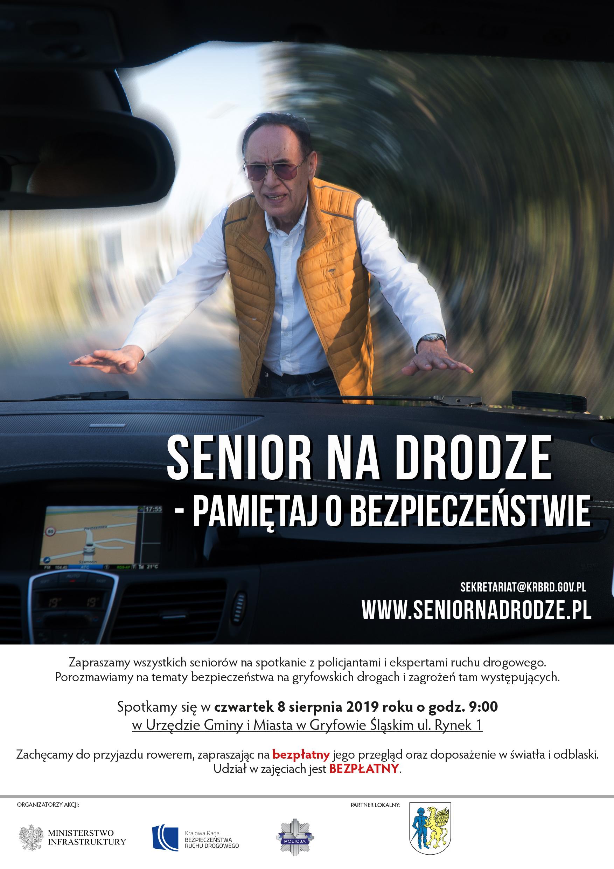 Senior na drodze -pamiętaj o bezpieczeństwie