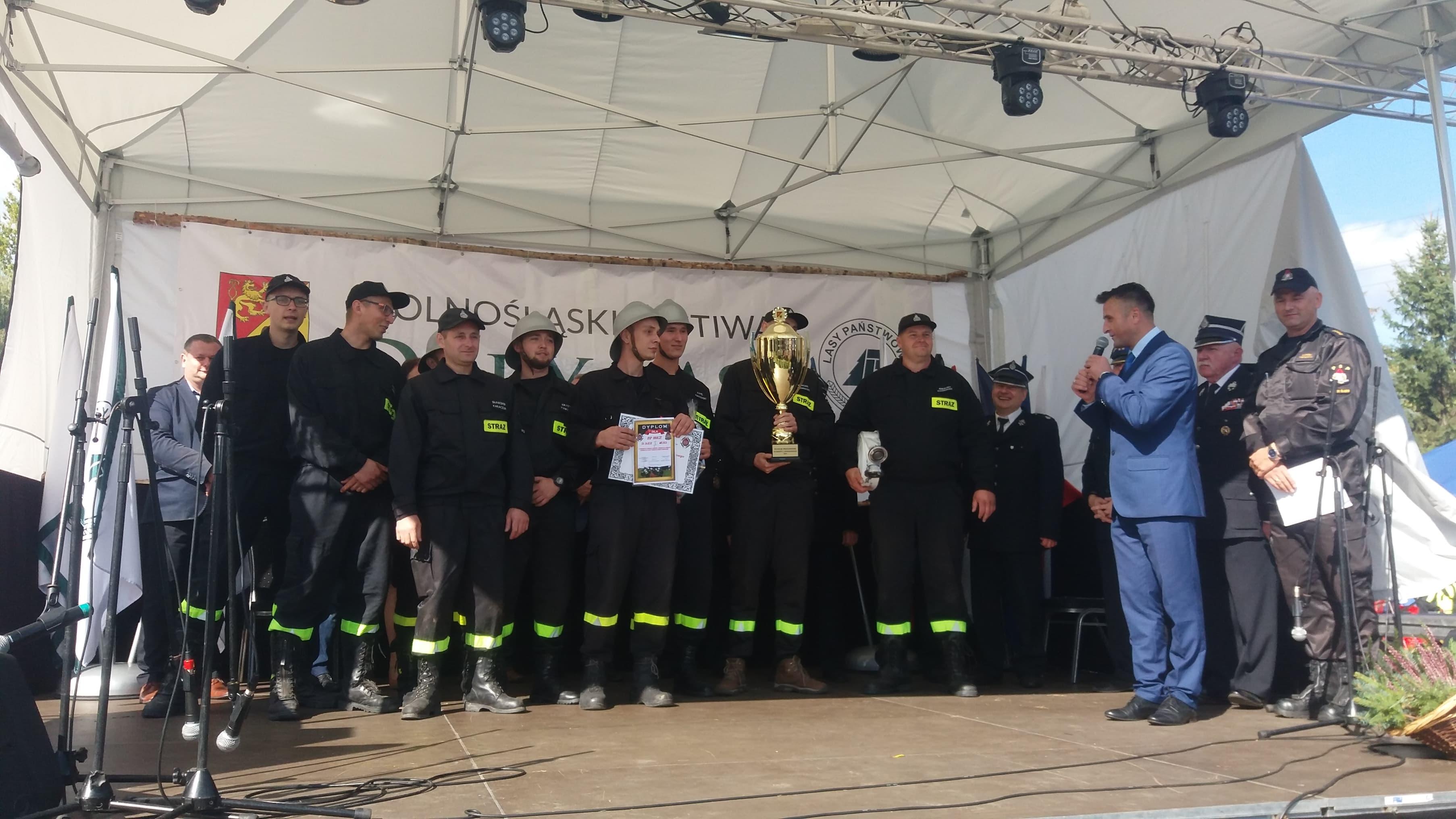 Strażacy z Ubocza zwycięzcami Powiatowych Zawodów Sportowo- Pożarniczych OSP.