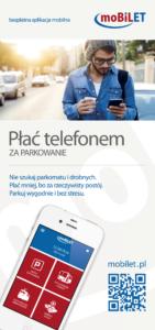 Smartfon zamiast parkometru na płatnych parkingach w Gryfowie Śląskim.