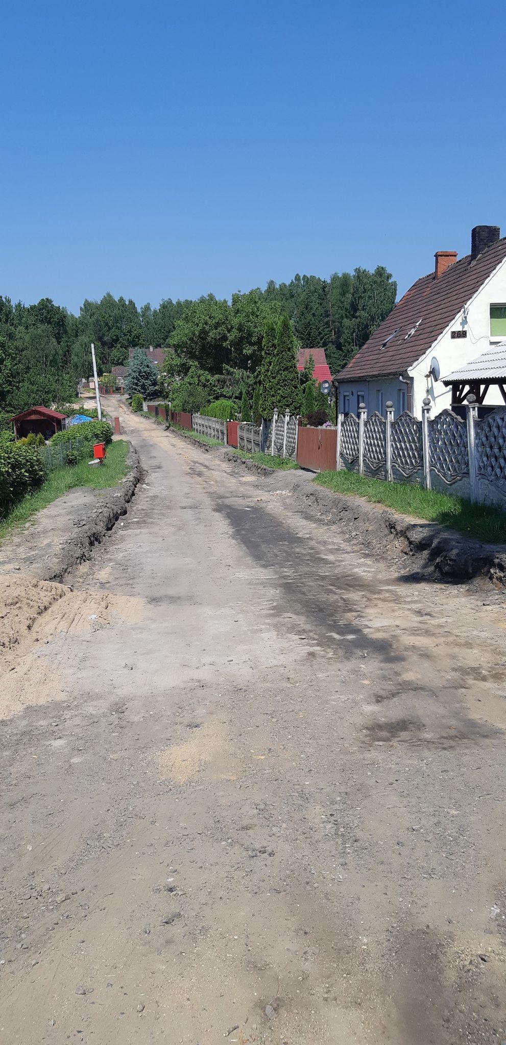 Kolejna inwestycja drogowa w miejscowości Ubocze