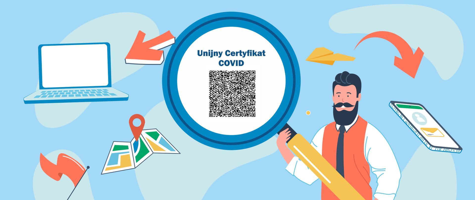 Unijny Certyfikat COVID – kiedy go szukać w telefonie