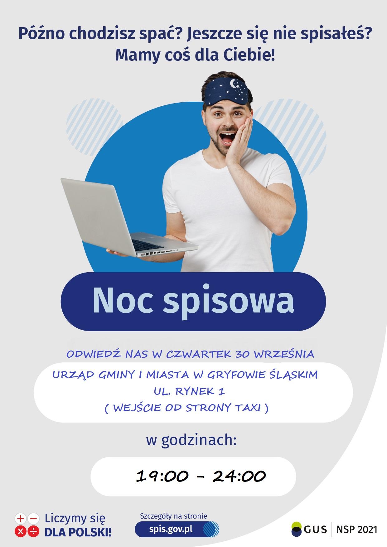 """""""NOC SPISOWA"""" W URZĘDZIE GMINY I MIASTA W GRYFOWIE ŚLĄSKIM"""